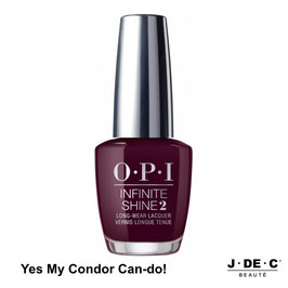 Yes My Condor Can-do! • OPI Infinite Shine