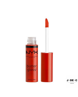 NYX PROFESSIONAL MAKEUP • Butter Gloss - Strawberry Jam