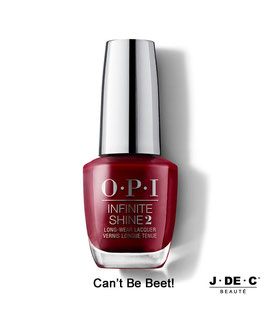 Vernis à Ongles OPI Infinite Shine 2 • Can't Be Beet!