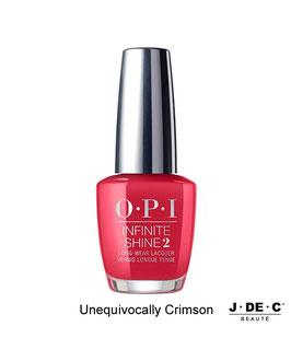 Vernis à ongles OPI Infinite Shine 2 • Unequivocally Crimson
