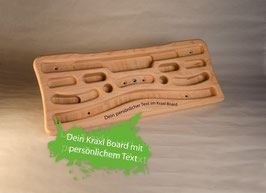 Kraxlboard classic WITH PERSONALIZED TEXT