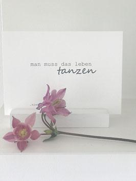 Postkarte *tanzen*