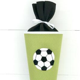 Schultüte Häkelmotiv, FUSSBALL