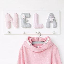 Garderobe Baumwolle, ROSA-HELLGRAU