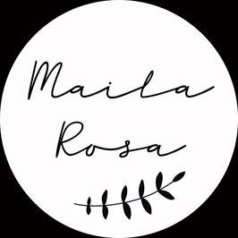 *Name liebt Holz* Anhänger, MAILA ROSA