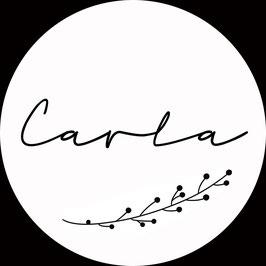 *Name liebt Holz* Anhänger, CARLA