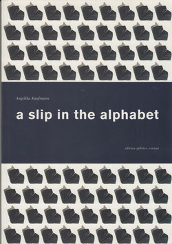 a slip in the alphabet