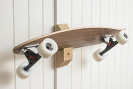 handcrafted board bracket - wall mount oak