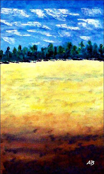 2017#03_Rapsfeld-Ölmalerei-Landschaft-Wald-Bäume-Feld-Raps-Ölbild-Ölgemälde