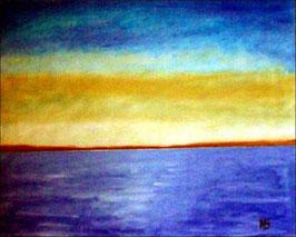 2017#15_Meerlandschaft-Ölmalerei-Landschaft-Sonnenuntergang-Meer-Küste-Ölbild-Ölgemälde