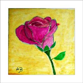 2016-03#05_Rote Rose für Trümel-Florale Ölmalerei