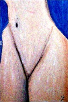 2016-08#12_Akt-Frau-Aktmalerei-Mädchen-Nude-Moderne Malerei-Gemälde-Ölmalerei