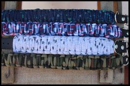 Halsbänder Textilgarn