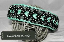 Halsbänder aus Parachute-Cord verstellbar durch Biothane-Adapter   ** Welpenbänder**
