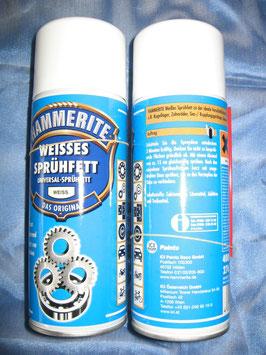 Hammerite - Weisses Sprühfett