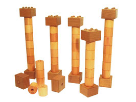 Säulen-Sortiment  (48-teilig)