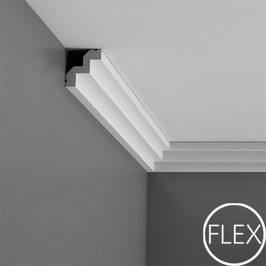 Stuckleiste C602F Flexible Luxxus ORAC DECOR® Eckleisten - ORAC DECOR® Eckleiste - Stuckleisten