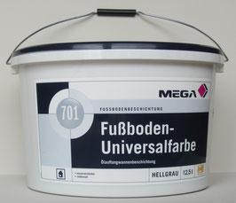 Mega Fußboden-Universalfarbe 701 - 12,5 l hellgrau - Mega Fussbodenbeschichtung - Bodenfarbe