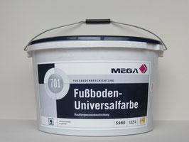 Mega Fußboden-Universalfarbe 701 - 12,5 l sand - Mega Fussbodenbeschichtung - Bodenfarbe