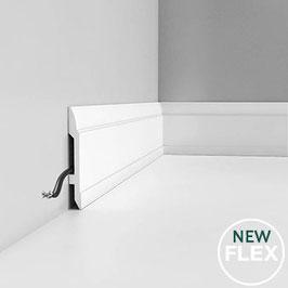 Sockelleisten - ORAC DECOR® Luxxus Kollektion SX104F flexibel - ORAC DECOR® Luxxus Sockelleisten