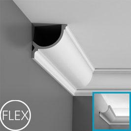 Stuckleiste C902F Flexible Luxxus ORAC DECOR® Eckleisten - ORAC DECOR® Eckleiste - Stuckleisten