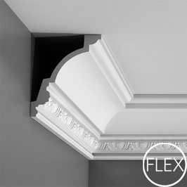 Stuckleiste C301F Flexible Luxxus ORAC DECOR® Eckleisten Kollektion - ORAC DECOR® Eckleiste - Stuckleisten