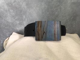 Buchenmaser blau stabilisiert