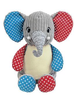 Cubbies Patchwork Elefant