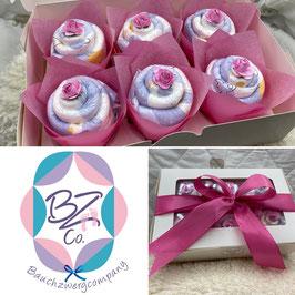 Windel-Cupcakes 6er Pack
