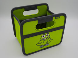 meori Faltbox Mini Animal Print Frog Kiwi Green