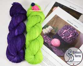 Strickkit NACHTEULE Purple - Toxic Waste