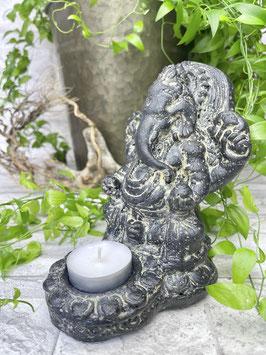 Ganesha Teelichthalter 15cm