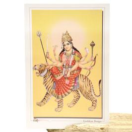 Postkarte Goddess Durga