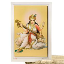 Postkarte Saraswati