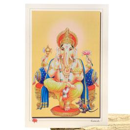Postkarte Ganesh