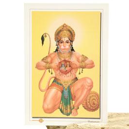 Postkarte Hanuman