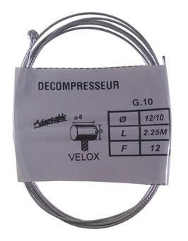 CABLE GAZ PEUGEOT D5L6 D1.2 L2.25