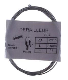 CABLE DERAILLEUR D4L4 D1.2 L2