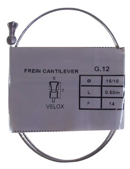 CABLE FREIN CANTILEVER D8L15 D1.5 L0.5