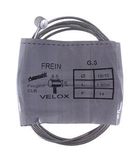 CABLE FREIN D8L8.5 D1.8 L1.8