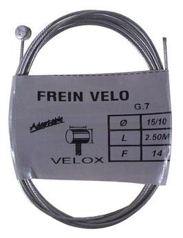 CABLE FREIN D7L6 D1.5 L2.5