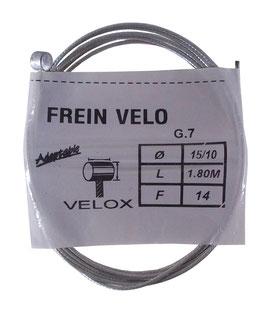 CABLE FREIN D7L6 D1.5 L1.8