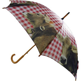 Regenschirm Alpen-Kuh