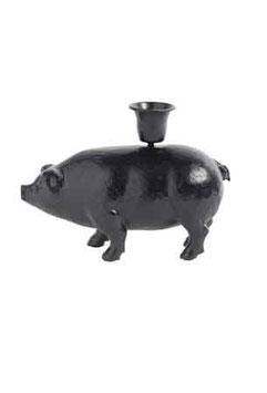 Kerzenständer - Schwein