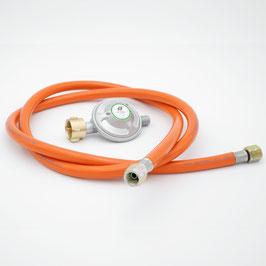 All´Grill Gasdruckminderer mit Gasschlauch 50 mbar (Set)