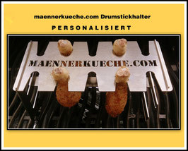 maennerkueche.com Drumstickhalter PERSONALISIERT