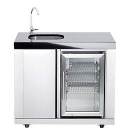 All´Grill Modul Waschbecken & Kühlschrank