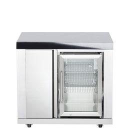 All´Grill Schrank mit Kühlschrank