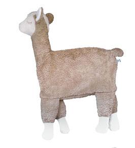 """Bio Kuschelkissen """"Alpaka/Lama"""" /beige"""