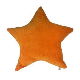 """Bio Kuschelkissen """"Stern"""",Nicki,orange, STEO-56"""